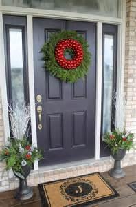 Front Door Garland Ideas Best 25 Front Doors Ideas On Porch Front Door