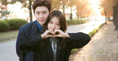drama lee jong suk and park shin hye n dispatch releases more photos of park shinhye lee
