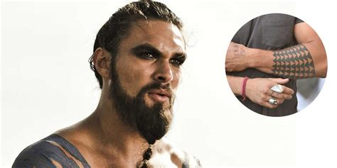 jason momoa tattoo meaning 15 most heavily tattooed actors in