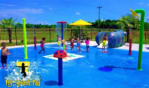 backyard sprinkler park mini mushroom water play features by my splash pad