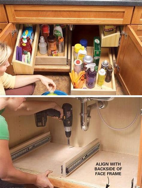 kitchen sink organizing ideas 20 diy kitchen storage ideas for small spaces coco29