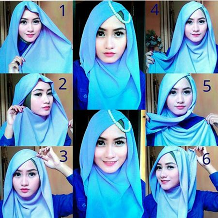 tutorial hijab yang cantik tutorial hijab terbaru 2017 agar terlihat lebih cantik