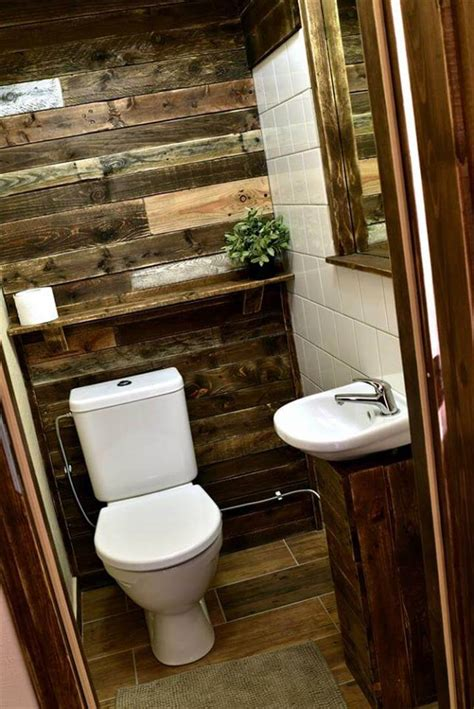 pallet ideas for bathroom pallet bathroom ideas 99 pallets