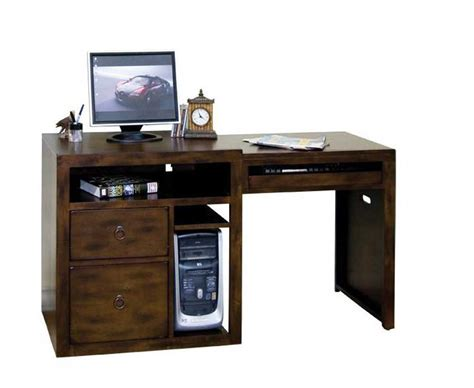 Computer Desk Home Wood Work All Wood Computer Desk Pdf Plans