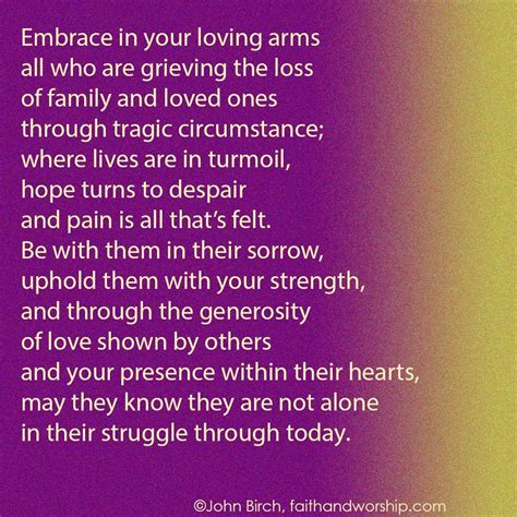 prayer comfort bereaved family prayer of comfort for the bereaved family