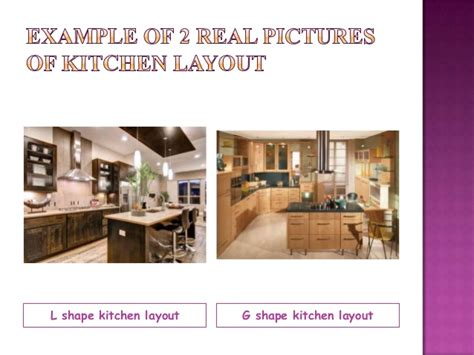 kitchen design and layout ppt tle kitchen layouts presentation