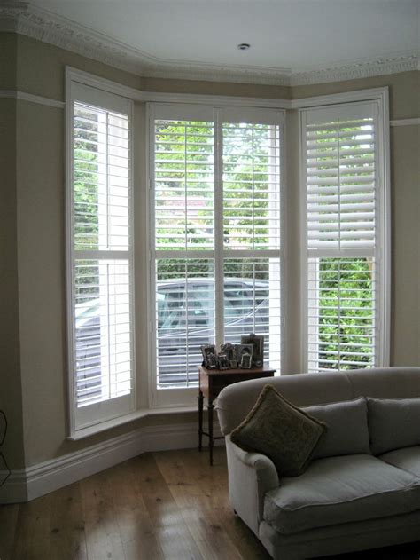 bay window shutters interior 17 best images about window shutters on white