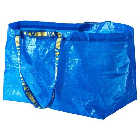 ikea bag frakta carrier bag large blue 71 l ikea
