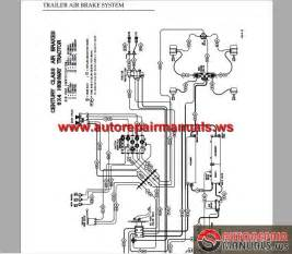 Freightliner Air Brake System Schematic Freightliner Air System Diagram Pictures To Pin On