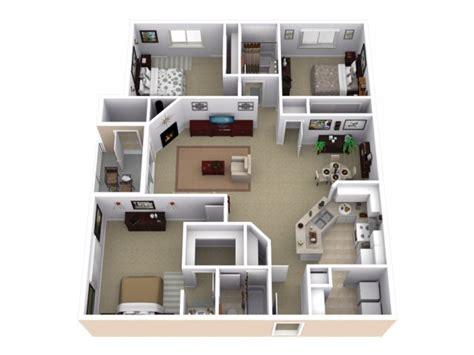 Set Kamar Eklusif 55 3 bed 2 bath apartment in roseville ca slate creek at