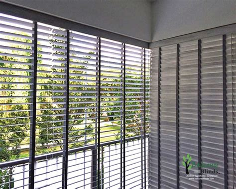 Balcony Window Blinds outdoor pvc wooden blinds gallery balconyblinds