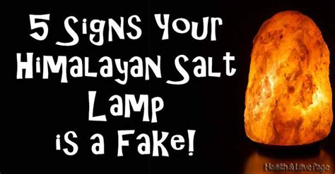 Are Salt L Benefits Real by 5 Signs That You A Himalayan Salt L