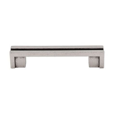 2 Inch Cabinet Hardware by Top Knobs Sanctuary 3 1 2 Inch Center To Center Pewter