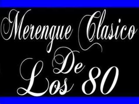 Los Merengues merengue de los 80 vol 4