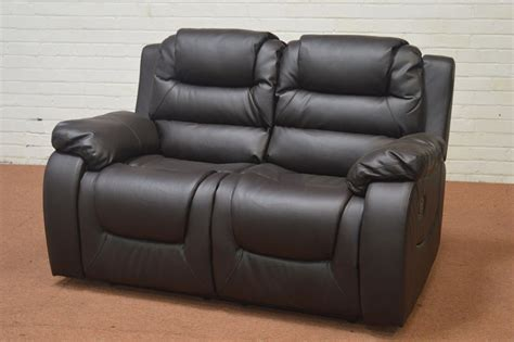 Ebay Leather Recliner by Clearance Vancouver 2 Seater Brown Leather Recliner Sofa