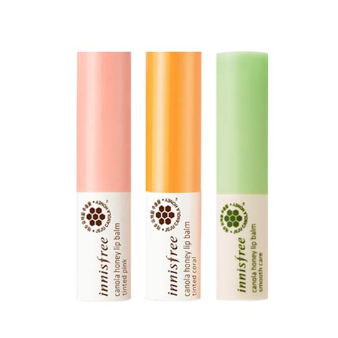 Innisfree Honey Lip Balm 3 5g innisfree canola honey lip balm 3 5g 3 types to choose