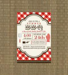 Printable Bbq Invitation Rehearsal Dinner By