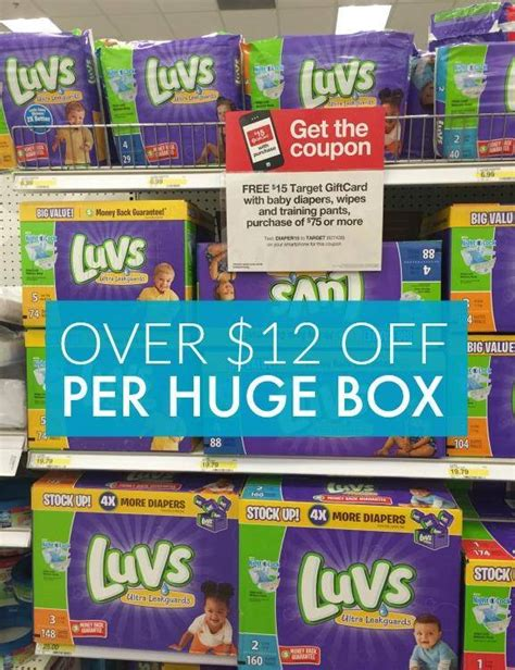 printable luvs diaper coupons pers cruisers diapers coupons only 3 91 per pack