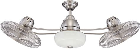 modern stainless steel ceiling fans craftmade bw248ss6 bellows ii contemporary stainless steel