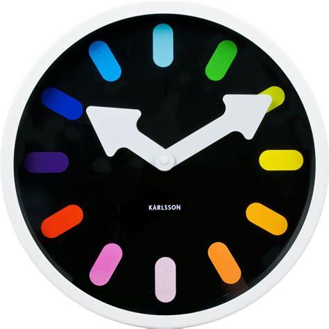 Karlsson Jam Dinding karlsson pictogram rainbow kopen klokken expert nl frank