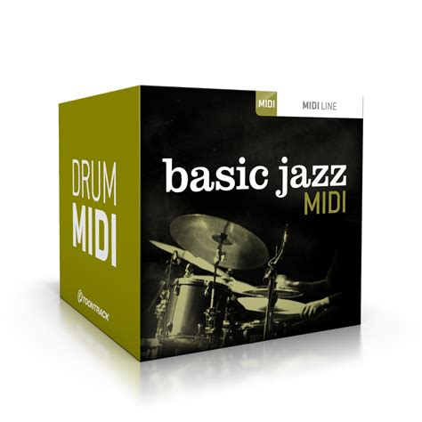 swing drum loops basic jazz midi pack released at toontrack