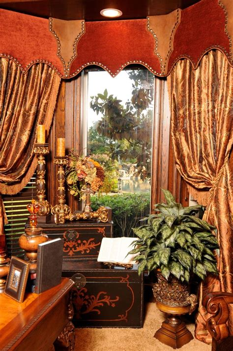 Tuscan Style Curtains Ideas 216 Best Cornices Images On Border Tiles Window Dressings And Cornice Boards