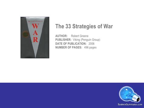 the 33 strategies of war pdf the 33 strategies of