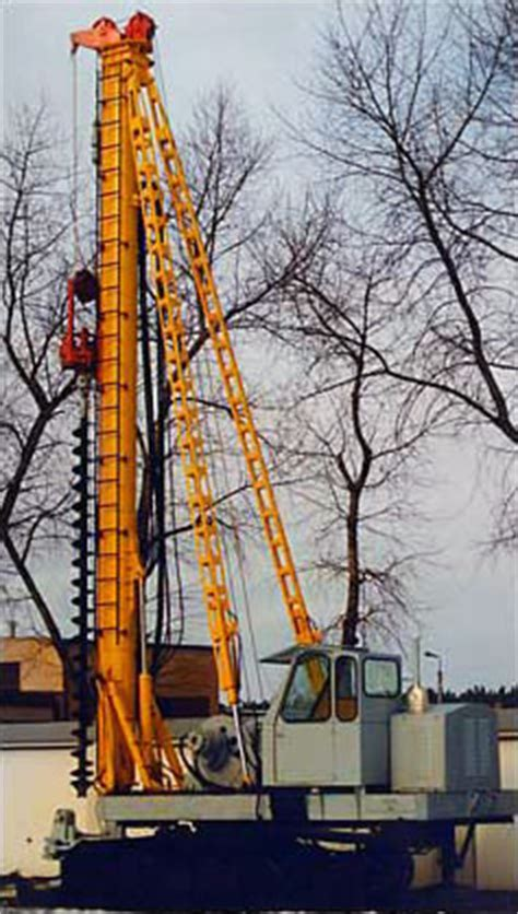 piling machines, pile drivers and horizontal rigs