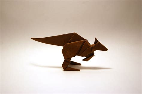How To Make An Origami Kangaroo - origami kangaroo by orimin on deviantart