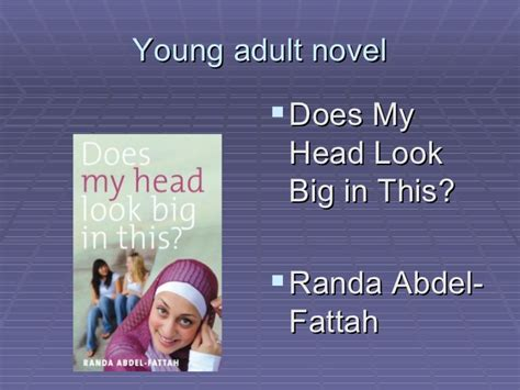 Teenlit Does My Look Big In This Randa Abdel Fattah belonging related texts helen sykes