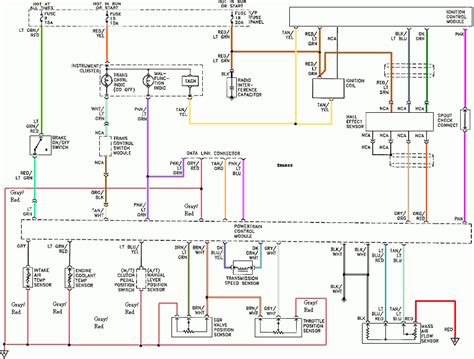 94 95 mustang ignition control module diagram