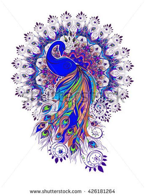 beautiful peacock designs to draw