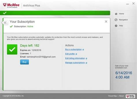 Giveaway Antivirus - giveaway đăng k 253 bản quyền 6 th 225 ng mcafee antivirus plus diệt virus