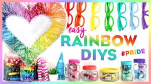 Diy Dorm Room Projects - 4 easy rainbow diys pride bring color to your room this summer youtube