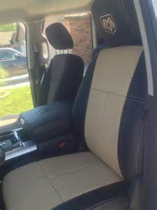 Seat Covers For Trucks Dodge Custom Leather Seat Covers In Dodge Ram Truckleather