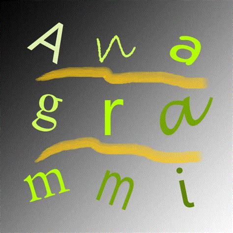 anagramma lettere come creare e trovare anagrammi postare eu