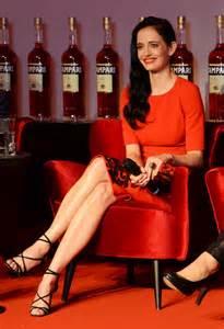 Eva green dazzles in red in 2015 campari calendar fm famemagazine