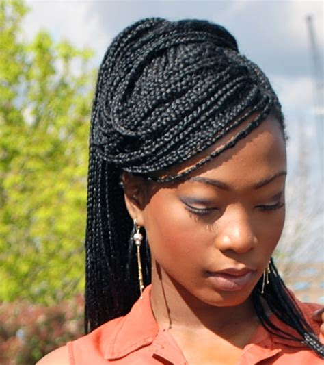 can i get box braids if i hair the box braids are back red this time all is belle