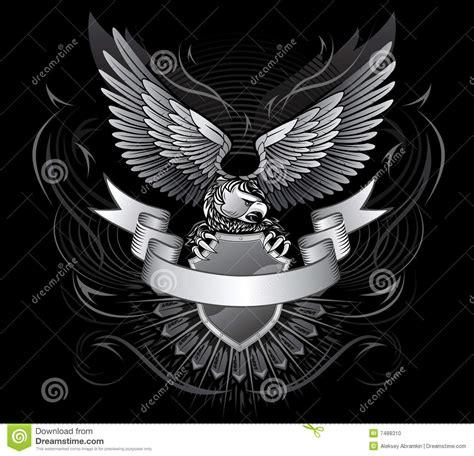 imagenes goticas blanco y negro 193 guila coa alas blanco y negro foto de archivo imagen