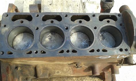 continental motor continental cn z120 engine block used bcn z120a600