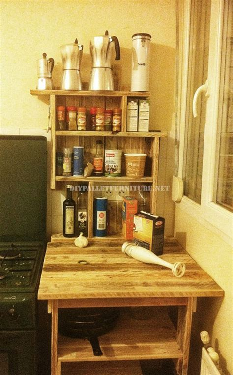 pallet furniture kitchen auxiliary furniture for the kitchen with palletsdiy pallet