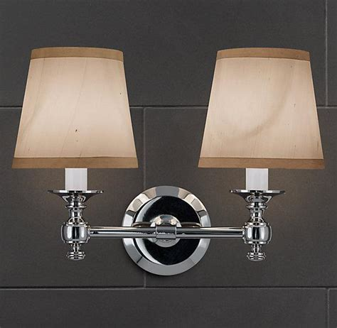Restoration Hardware Lugarno Sconce lugarno sconce bath sconces restoration hardware