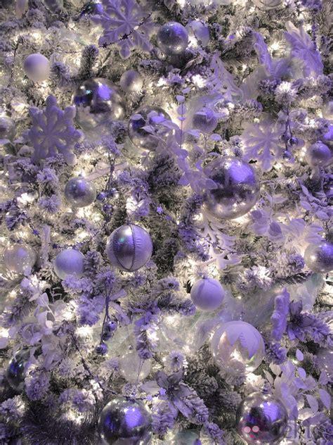 imagenes en blanco y morado 193 rbol de navidad blanco y morado fotos de navidad