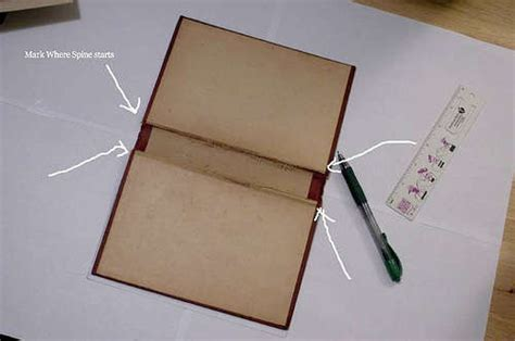 How To Make A Book Jacket Out Of Paper -