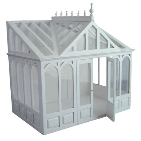 Dolls Houses Conservatories Victorian Conservatory Painted Kit Dolls House