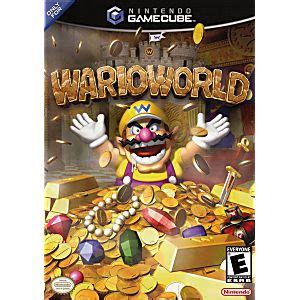 wario world gamecube game