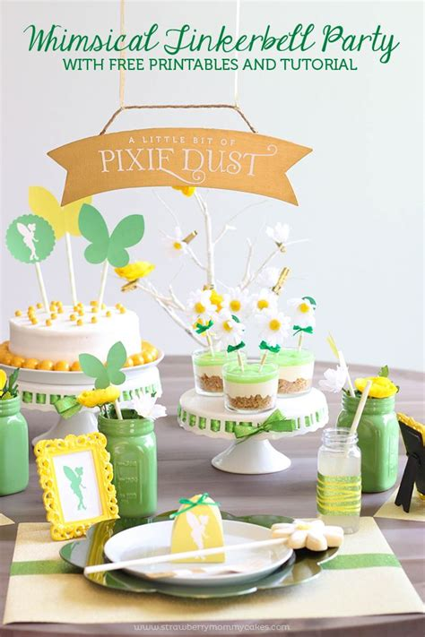 free printable tinkerbell party decorations 114 best images about meadows birthday ideas on pinterest
