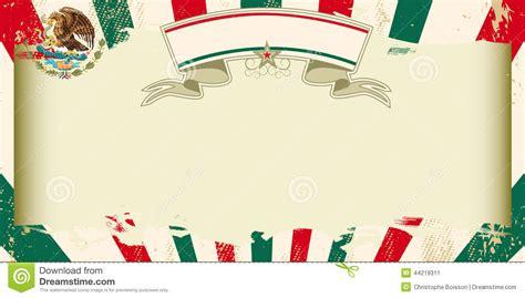 imagenes de la revolucion mexicana para invitaciones invitaci 243 n mexicana sucia del grunge ilustraci 243 n del