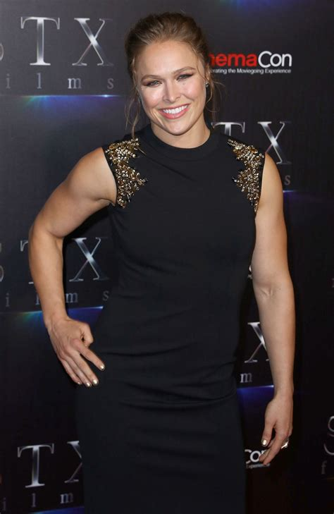 rhonda rousey seattle mist ronda rousey stxfilms presentation at cinemacon 2018 in
