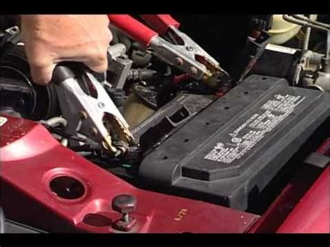charging your car battery with a charger how to charge test your car battery autozone car care